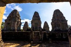 Η ανατολή Mebon Angkor Wat Siem συγκεντρώνει την Καμπότζη Νοτιοανατολική Ασία είναι ένας 10ος ναός αιώνα σε Angkor, Καμπότζη Στοκ Εικόνες