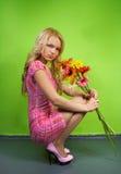 η ανθοδέσμη ανθίζει τις ν&epsilo Στοκ φωτογραφία με δικαίωμα ελεύθερης χρήσης