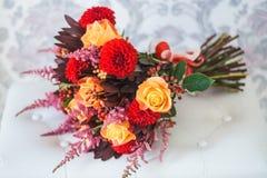 η ανθοδέσμη χτυπά το γάμο Στοκ εικόνα με δικαίωμα ελεύθερης χρήσης