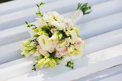 η ανθοδέσμη ανθίζει το γάμο Στοκ Φωτογραφίες
