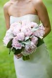 η ανθοδέσμη ανθίζει το ροζ Στοκ εικόνα με δικαίωμα ελεύθερης χρήσης