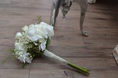 Η ανθοδέσμη νυφών ` s, αγροτικός γάμος Στοκ Εικόνες