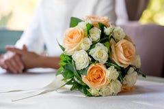 Η ανθοδέσμη της νύφης Στοκ φωτογραφία με δικαίωμα ελεύθερης χρήσης