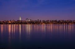 Η αντανάκλαση της Νέας Υόρκης Στοκ εικόνα με δικαίωμα ελεύθερης χρήσης