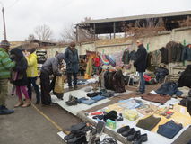 Η ανταλλαγή συναντιέται στο Κίεβο στοκ φωτογραφία με δικαίωμα ελεύθερης χρήσης