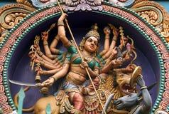 Η ανώτατη ινδή θεά της καταστροφής Στοκ Εικόνες