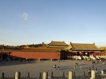 Η απαγορευμένη πόλη (αυτοκρατορικό παλάτι) στοκ εικόνα με δικαίωμα ελεύθερης χρήσης