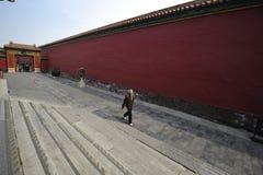 Η απαγορευμένη πόλη, Κίνα στοκ εικόνα