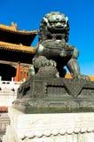 Η απαγορευμένη πόλη στο Πεκίνο στοκ φωτογραφία