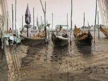 η απεικόνιση ανασκόπησης ηχεί τη Βενετία Στοκ εικόνα με δικαίωμα ελεύθερης χρήσης