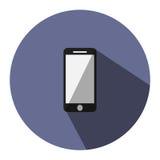 Η απεικόνιση είναι ένα κινητό εικονίδιο μπορέστε να χρησιμοποιηθείτε στα μέσα Στοκ φωτογραφία με δικαίωμα ελεύθερης χρήσης