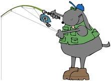 Κυνοειδής ψαράς απεικόνιση αποθεμάτων