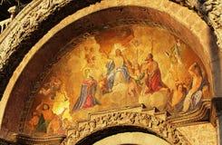 12η απεικόνιση του Ιησούς Χριστού αρχιτεκτονικής αιώνα της Βενετίας Στοκ εικόνα με δικαίωμα ελεύθερης χρήσης