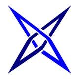 Η απλή επιστολή Χ λογότυπων με το διανυσματικό σχήμα και μπορεί editable Στοκ Εικόνα