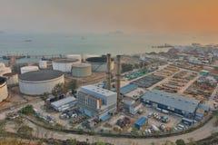 η αποθήκη πετρελαίου σε Nam ωχρό HK Στοκ Εικόνα