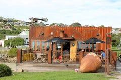 Η αποθήκη, φιλικός κόλπος καφέδων, Oamaru, Otago, NZ Στοκ φωτογραφίες με δικαίωμα ελεύθερης χρήσης