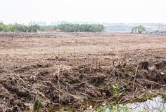 Η αποκατάσταση εδάφους για έχτισε την υψηλή συγκυριαρχία στοκ εικόνα με δικαίωμα ελεύθερης χρήσης