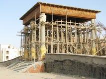 Η αποκατάσταση ενός ιστορικού σπιτιού στοκ εικόνες με δικαίωμα ελεύθερης χρήσης
