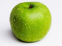 Η απομονωμένη πράσινη Apple Στοκ φωτογραφίες με δικαίωμα ελεύθερης χρήσης