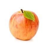 Η απομονωμένη Juicy πορτοκαλιά Apple που απομονώνεται στο λευκό Στοκ φωτογραφία με δικαίωμα ελεύθερης χρήσης