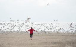 Η απόλαυση για τη ζωή, σπάζει ελεύθερο Στοκ Φωτογραφία