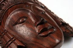 η από το Μπαλί τέχνη κάθεται ξύ&l Στοκ Φωτογραφίες