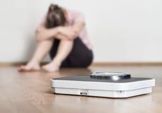 Η απώλεια βάρους αποτυγχάνει την έννοια Στοκ φωτογραφία με δικαίωμα ελεύθερης χρήσης