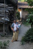 Η απλή και εύκολη του χωριού ζωή Στοκ φωτογραφία με δικαίωμα ελεύθερης χρήσης