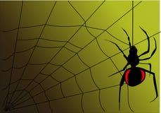 Η αράχνη Στοκ εικόνα με δικαίωμα ελεύθερης χρήσης