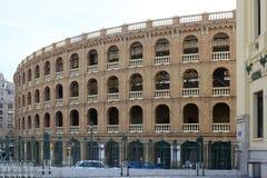 Η αρένα ταυρομαχίας, Βαλένθια, Ισπανία Στοκ φωτογραφία με δικαίωμα ελεύθερης χρήσης