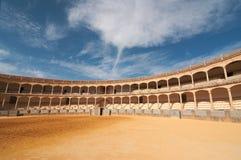 Η αρένα ταυρομαχίας Plaza de Toros, Ronda, Ισπανία Στοκ φωτογραφίες με δικαίωμα ελεύθερης χρήσης
