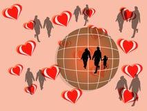 Η αρμονία δημιουργεί την αγάπη Στοκ φωτογραφίες με δικαίωμα ελεύθερης χρήσης