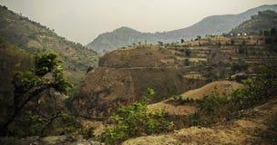 Η αρχή βουνών στοκ εικόνα με δικαίωμα ελεύθερης χρήσης