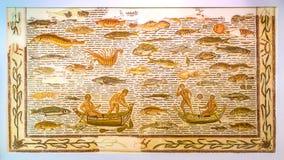 Η αρχαία αλιεία Στοκ Εικόνα