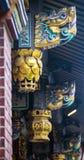Η αρχαία διακόσμηση ναών ` s Στοκ Εικόνες