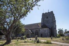 Η αρχαία εκκλησία Pevensey & Westham του ST Mary ` s Στοκ Φωτογραφίες