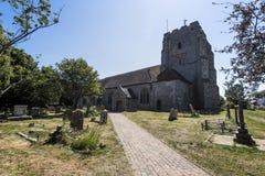 Η αρχαία εκκλησία Pevensey & Westham του ST Mary ` s Στοκ εικόνα με δικαίωμα ελεύθερης χρήσης