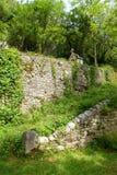 Η αρχαία καθολική λάρνακα, Rocamadour, Γαλλία Στοκ εικόνα με δικαίωμα ελεύθερης χρήσης