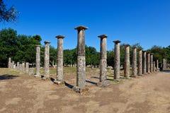 η αρχαία Ολυμπία Στοκ Εικόνα