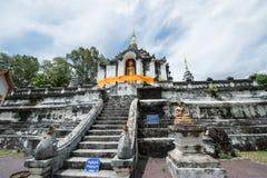 Η αρχαία παγόδα σε Wat Phra Yuen Στοκ φωτογραφία με δικαίωμα ελεύθερης χρήσης