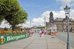 Η αρχαία πόλη της Δρέσδης, Γερμανία Στοκ φωτογραφία με δικαίωμα ελεύθερης χρήσης