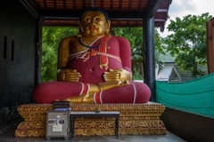 Η αρχαία πόλη Chiang Mai, Ταϊλάνδη Wat Chedi Luang & x28 Wat Chedi Luang& x29  Παγόδα Piandian, Βούδας στοκ εικόνες με δικαίωμα ελεύθερης χρήσης