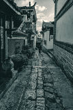 Η αρχαία πόλη Lijiang Στοκ φωτογραφία με δικαίωμα ελεύθερης χρήσης
