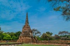 Η αρχαία Royal Palace σε Ayutthaya Ταϊλάνδη Στοκ φωτογραφία με δικαίωμα ελεύθερης χρήσης