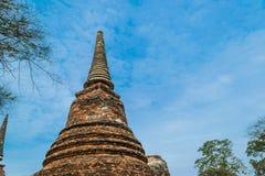 Η αρχαία Royal Palace σε Ayutthaya Ταϊλάνδη Στοκ εικόνες με δικαίωμα ελεύθερης χρήσης
