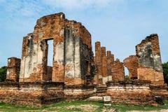 Η αρχαία Royal Palace σε Ayutthaya Ταϊλάνδη Στοκ εικόνα με δικαίωμα ελεύθερης χρήσης