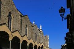 Η αρχιτεκτονική στη Φλωρεντία, Ιταλία, Στοκ Εικόνες