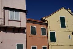 η αρχιτεκτονική χρωματίζ&epsilo Στοκ εικόνα με δικαίωμα ελεύθερης χρήσης