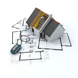 η αρχιτεκτονική χτυπά απεικόνιση αποθεμάτων