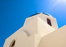 Η αρχιτεκτονική Santorini Στοκ φωτογραφία με δικαίωμα ελεύθερης χρήσης